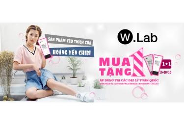 Tôn vinh sắc Việt - ưu đãi nhân đôi cùng W.Lab White Holic