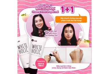 "W.Lab White Holic siêu khuyến mại ""Mua 1 tặng 1"""