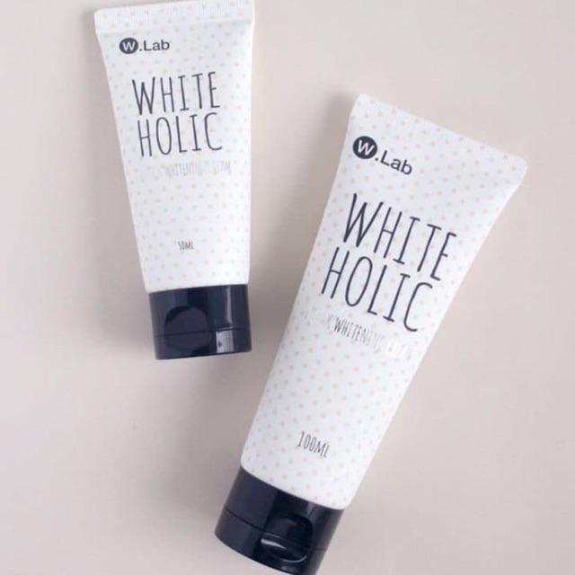 Review kem dưỡng trắng da White Holic 1