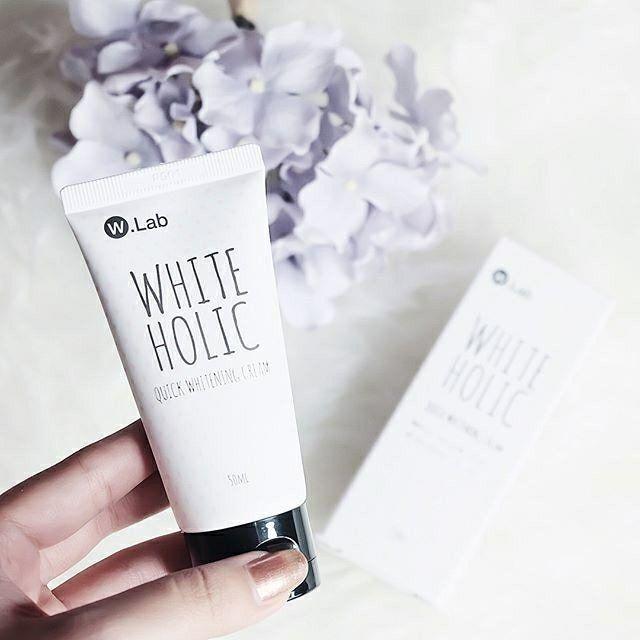 Review kem dưỡng trắng da White Holic