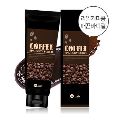 Tẩy da chết toàn thân chiết xuất cà phê W.Lab